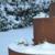 Kräuterschnecke im Winter